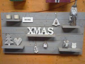 Kerst wandbord